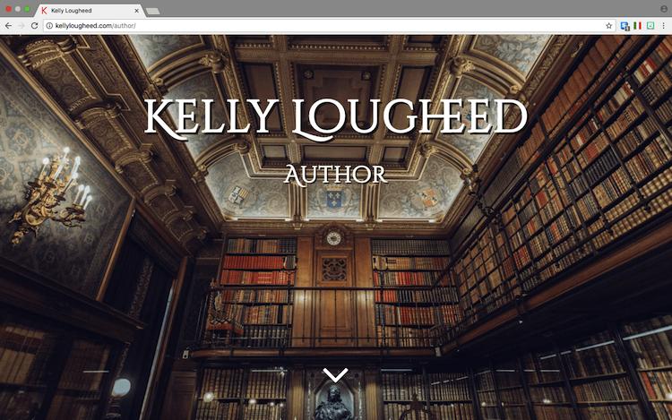 Kelly Lougheed author website